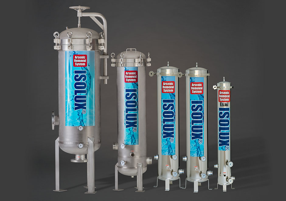 5 stainless steel tubular water treatment vessels