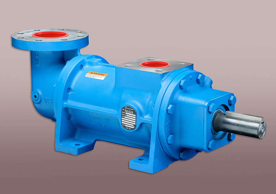 Large mining pump about 2 feet long
