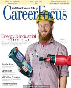 Front of Career Focus magazine